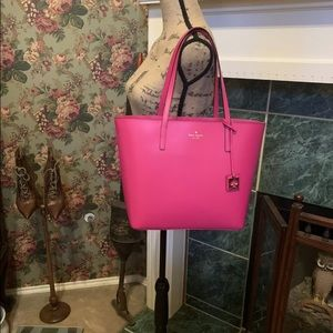 🆕️ Kate Spade HAVEN STREET MAXI TOTE Pink $300 👛